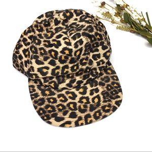 Vans | Cheetah Print Snapback Hat